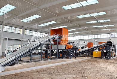 Proyecto de trituración de residuos voluminosos del centro de clasificación de residuos domésticos d