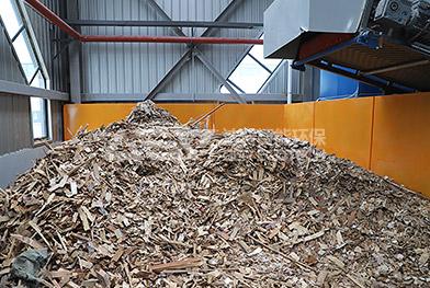 Línea de producción de eliminación de residuos voluminosos de China Zhengzhou