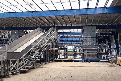 Proyecto integral de central eléctrica trituradora de biomasa a gran escala