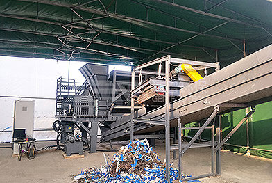 Proyecto de residuos voluminosos de Shanghai