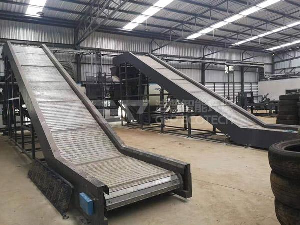 Ingrese al sitio de la línea de producción de eliminación de neum