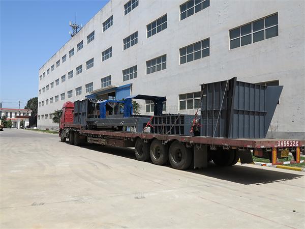 Se ha enviado el equipo de trituración de biomasa.