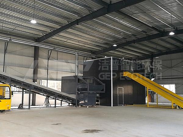 Proyecto de eliminación de residuos a granel de Chengdu pasó la aceptación de una sola vez