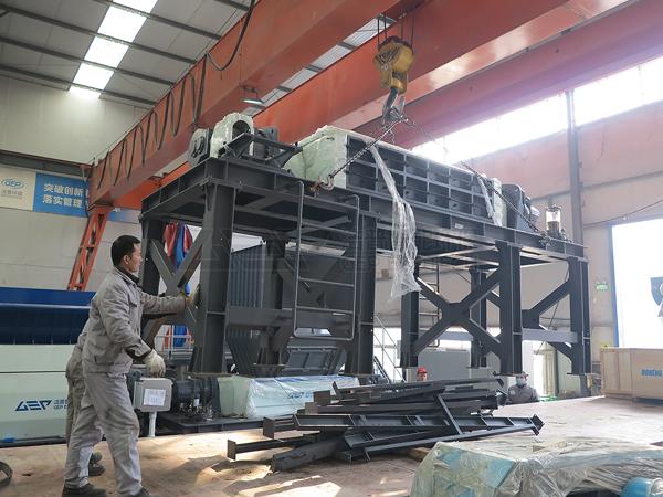 Los equipos de eliminación de residuos voluminosos GEP ECOTECH se envían de forma centralizada.