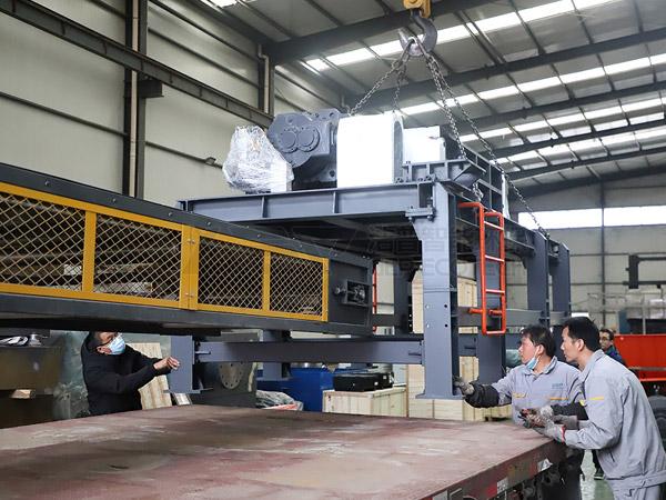 El equipo de pretratamiento de residuos peligrosos de GEP está listo para su entrega a Xinjiang