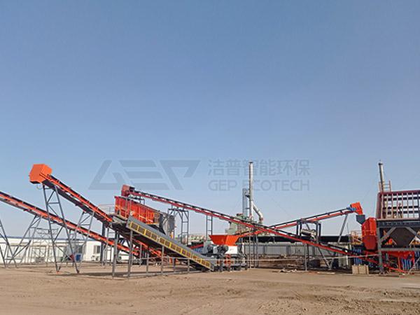 El sistema de eliminación previa de residuos peligrosos GEP se entrega al campo petrolero en el noroeste de China