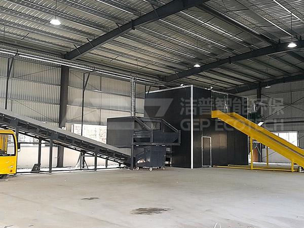 Explore la tecnología de tratamiento de residuos voluminosos en Chengdu