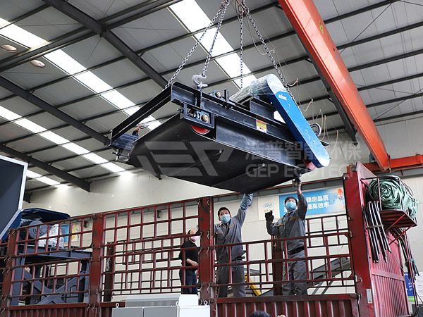 Bulky waste disposal equipment of Guancheng District has been delivered, the second sorting center in Zhengzhou has landed!