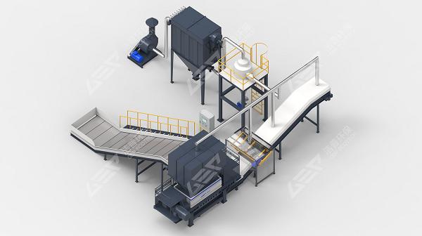La eliminación de residuos a gran escala está integrada en el sistema de