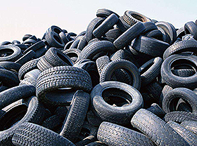 Neumáticos de desecho