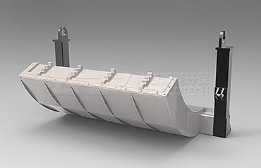GE serie europa trituradora fino para residuos sólidos