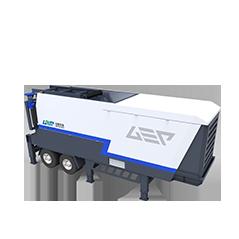 GW Series Trituradora móvil de residuos sólidos