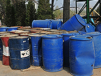 Industry Oil Drum and Paint Drum Shredding Recovery