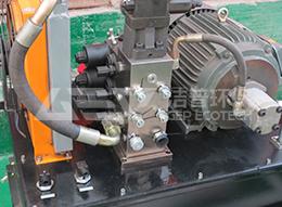 Estación hidráulica accesorios trituradora