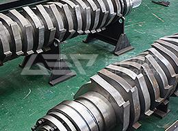Conjunto de eje de corte accesorios trituradora